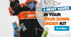 SNOWYS BLOG > The Tour Down Under is in full swing in Adelaide at the moment. We've put together a few products that we think every TDU-goer should have, or cyclists for that matter! #cycling #tourdownunder #tdu #cyclinggear