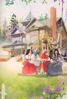 Little Women having tea