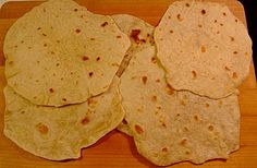 Easy Flour Tortillas WITHOUT Lard or Shortening!