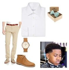 """""""Untitled #67"""" by jadalavonne on Polyvore featuring Haggar, Yves Saint Laurent, Forever 21, Timex, men's fashion and menswear"""