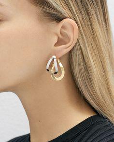 Les boucles d'oreilles Endless de Charlotte Chesnais