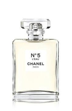 Chanel Nª5 L'EAU Spray   2 oz. $100 (Recommended, fresh, clean, yet feminine)