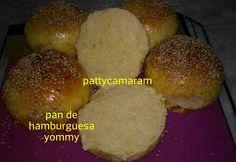 PAN PARA HAMBURQUESA