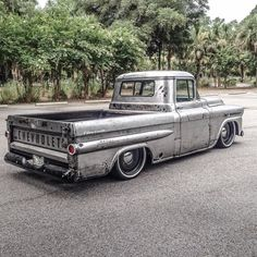 """'59 #Chevy #Apache Fleetside built by @fortifiedconcepts  #TruckDaily #TruckNation"""