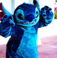 I love the interactions that I've had with Stitch.