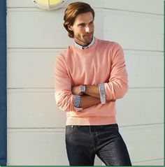 Men's casual style. Tommy Dunn for Brooks Brothers Spring 2014