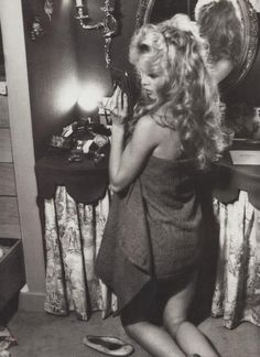 Brigitte Bardot photographed in her home 1958 by William Klein