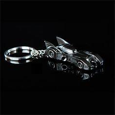 Batman keeps his keys on a Batmobile keychain because he can. Because he is BATMAN!