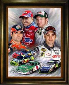 Image Search Results for nascar art paintings