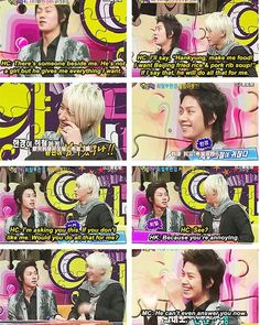 Heechul and Hankyung. Right in the HanChul feels...