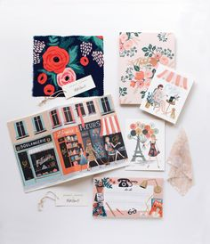 There's a big buzz around Rifle Paper Co. — not that it ever really goes away. Click through to peek at their planners & a fab LA Paper Crown/Rifle event!