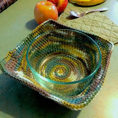 Bowl Cozy Hot Pad Pattern By Amy B Sched