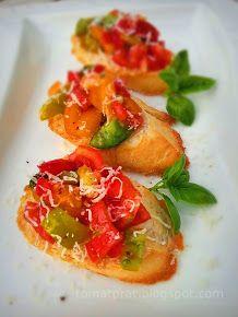 Tomato bruchetta
