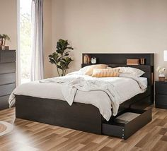 Como Double Bed With Storage | Double Beds | Beds | Bedroom & Mattresses | Categories | Fantastic Furniture