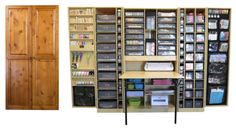The WorkBox 2.0 For some serious craft-organizing.... (only $1225 @ originalscrapbox)