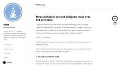 White responsive web design: http://ninjasandrobots.com/