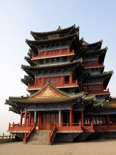Yuejiang Tower, Nanjing China