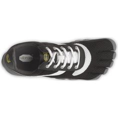 adfa409fcde47 Vibram FiveFingers Speed Shoes in Blk Wht Blk - Footwear - MelMorgan Sports