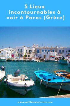 Découvre la très belle île de Paros et Antiparos dans les Cyclades en Grèce. Au menu : Parikia, Naoussa, Lefkès, Pisso Livadi, Agios Giorgios. Paros est la la troisième île des Cyclades en taille après Naxos et Andros. Quand tu regardes une carte des Cyclades, elle se situe presque au centre. #paros #cyclades #grece #voyage #blogvoyage