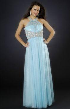 Blues Sleeveless A-line Floor-length #Prom #Dress Style Code: 00707 $119
