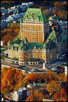 Chateau Frontenac,~*♥♥*~    Quebec Canada