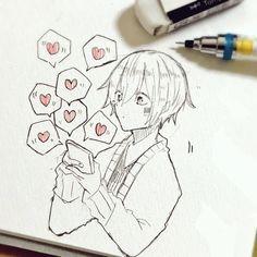 (。>﹏<。) Blouses and Tops red wonder woman shirt Anime Drawings Sketches, Anime Sketch, Manga Drawing, Manga Art, Cute Drawings, Anime Chibi, Art Anime, Kawaii Anime, Manga Anime