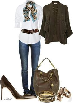 Love the tops and accessories.  No on jeans and shoes.