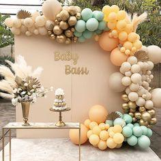 "HANA PARTY on Instagram: ""Boho Baby Shower Planning and Decorations: @hanapartycom…"" Happy Birthday Decor, Baby Boy Birthday Themes, 1st Birthday Photoshoot, Safari Birthday Party, Fancy Baby Shower, Boho Baby Shower, Baby Boy Shower, Balloon Decorations Party, Birthday Party Decorations"
