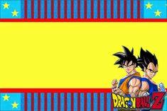 Dragon Ball Z: Free Printable Invitations. | Oh My Fiesta! in english