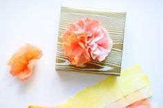 DIY Paper DIY Craft DIY Paper Towel Flowers -