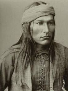 Chief Naiche (ca. 1857-1919). Final hereditary chief of the Chiricahua band of Apache. Naiche was the youngest son of Cochise and Dos-teh-seh. His older brother was Chief Taza.