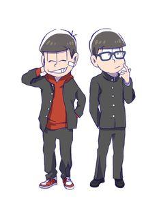 おそ松さん Osomatsu-san おそ松&チョロ松「おそ松さん雑多ろぐ」/「コトネ・ア」の漫画 [pixiv]