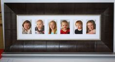 What a beautiful frame to have with your children in it to remind you how lucky you are.
