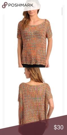 78532de0395f Loose knit sweater size small NWT Relaxed fit and a very soft 70% acrylic