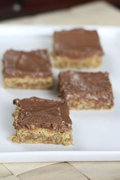 Lunch Lady Peanut Butter Bars {Satisfy My Sweet Tooth} - Made them GF today...wow amazing!!!