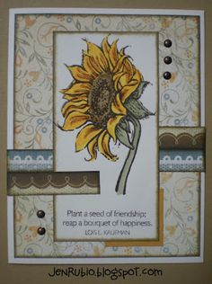 Scrapbook and Stamp with Jen Rubio - StampwithJen.ctmh.com: Friendship Bouquet S1205