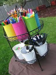 DIY kids craft supplies storage - Google Search