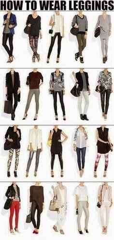How to wear leggings in winter   Fashion World