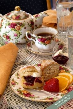 High Afternoon Tea Party by Sweet Remembrances, PA Good Morning Coffee, Coffee Time, Tea Time, Café Chocolate, Tea Sandwiches, Tea Service, My Cup Of Tea, Kakao, Tea Recipes
