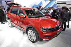 Nuova Volkswagen Tiguan al Salone di Francoforte 2015