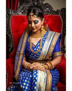 Lehenga Style Saree, Bengali Bridal Makeup, Bengali Bride, Durga Puja, Reception Party, Bridal Portraits, Bridal Looks, Desi, Marriage