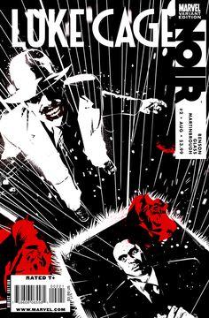 Luke Cage Noir # 2 (Variant) by Dennis Calero