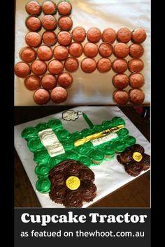 Traktorkuchen Geburtstag