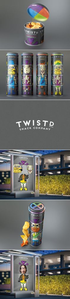 Get Twistd With These Tasty Portion Controlled Potato Chips — The Dieline | Packaging & Branding Design & Innovation News