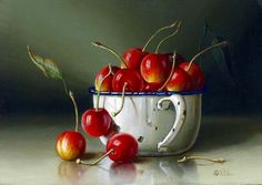 Rob Ritchie   OIL   Cherries
