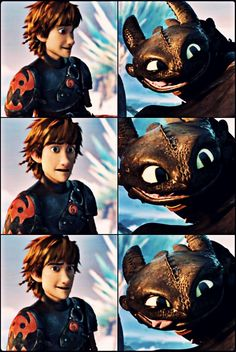 hiccup & toothless .. httyd2