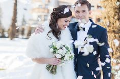 Winter wedding. See more: www.ouido.ch