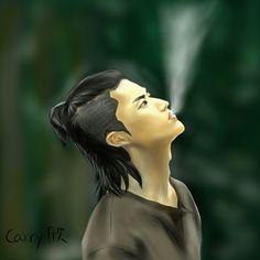 Crows zero // Genji Takiya #crowszero #genji #fanart Genji Crows Zero, Naruto Uzumaki Art, Feeling Song, Skull Wallpaper, Beautiful Places In The World, Fanart, Hairstyles, Cosplay, Anime