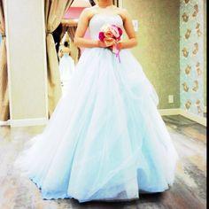 light blue dress♡