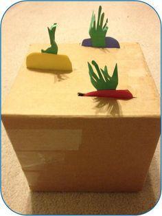 Cardboard Garden  Create a cardboard garden plot for your kiddos